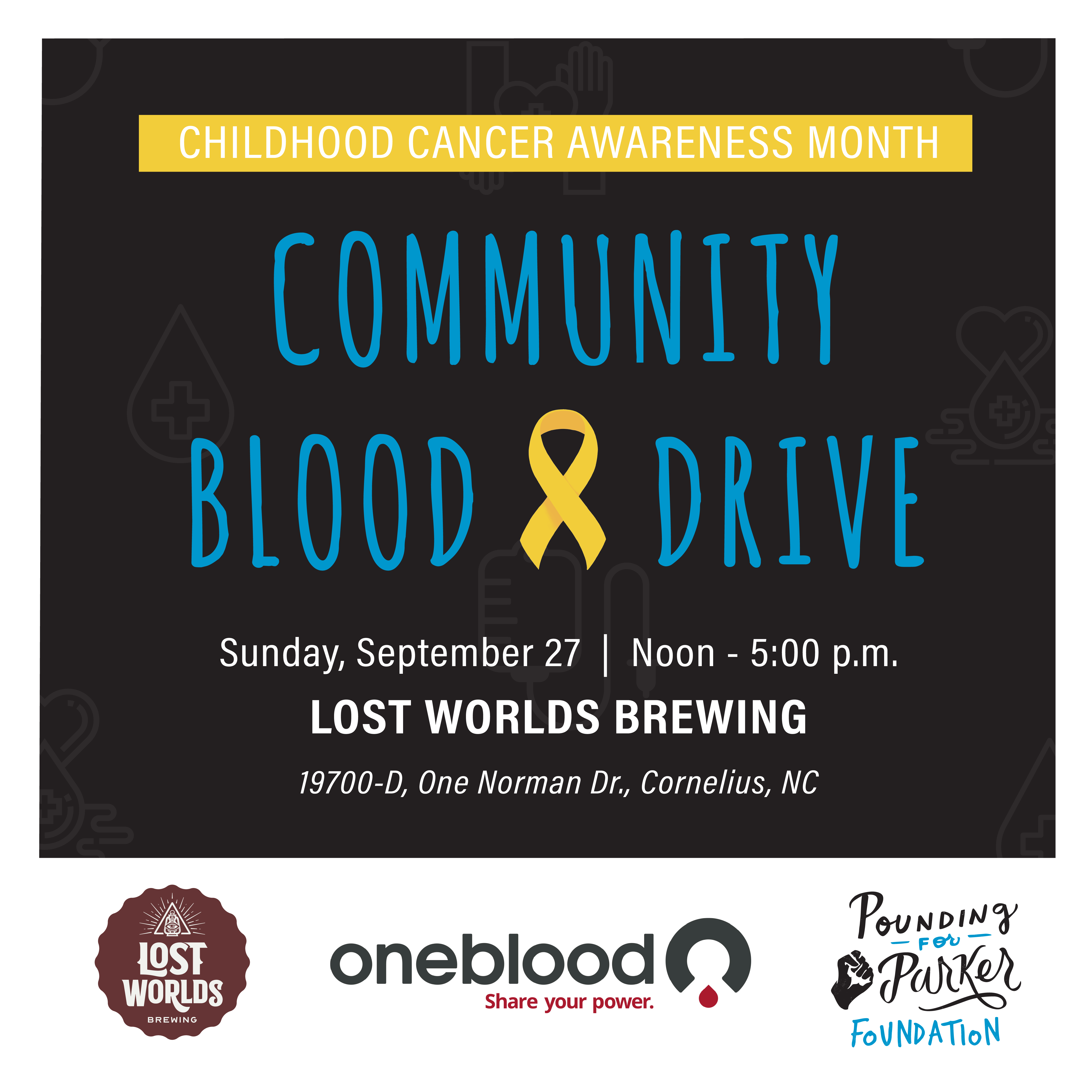 Pounding For Parker - Community Blood Drive